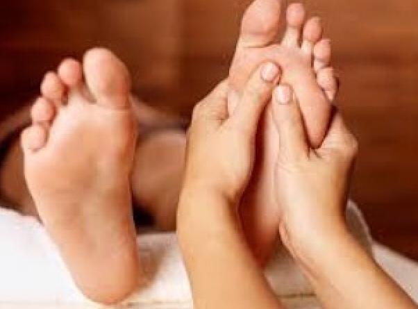 Fußdruckpunkt Massage
