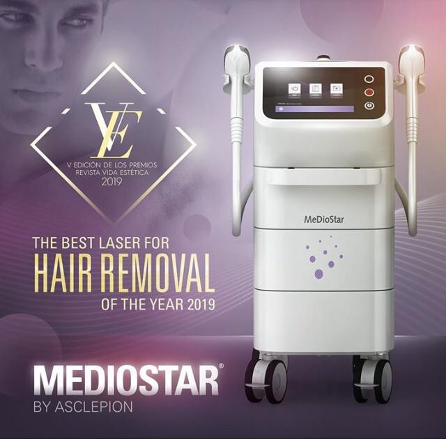 Der beste Laser zur Haarentfernung des Jahres 2019 - Mediostar by Asclepion